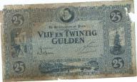 Holandia 25 gulden 1928r b.rzadki