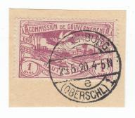 0518 Plebiscyt Górny Śląsk kas. Hindenburg 80 pkt
