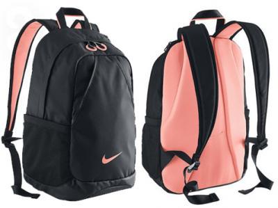 bf0b6367a5f57 Plecak Nike BA4731 szkolny damski czarny różowy - 5687511864 ...