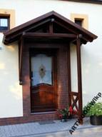 Daszek Nad Drzwi Wejście SUPORT (jednospadowy)