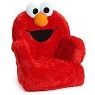 Fotelik Elmo gadający i zachęcający do zabawy