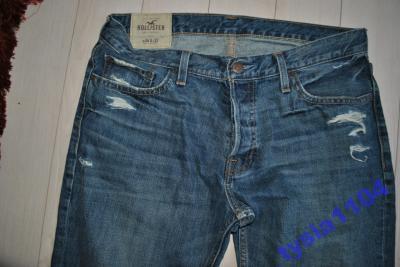 hollister spodnie jeans  34/32 vintage