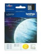Tusz Brother żółty LC970Y=LC-970Y, 300 str.