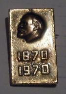 Lenin 1870 - 1970 - stara wpinka.