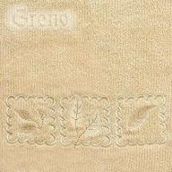 Ręcznik Gracja 50x100 Beżowy miękki 420g/m2 Greno