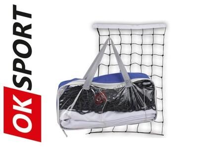 Siatka do siatkówki z linką stalową i torbą