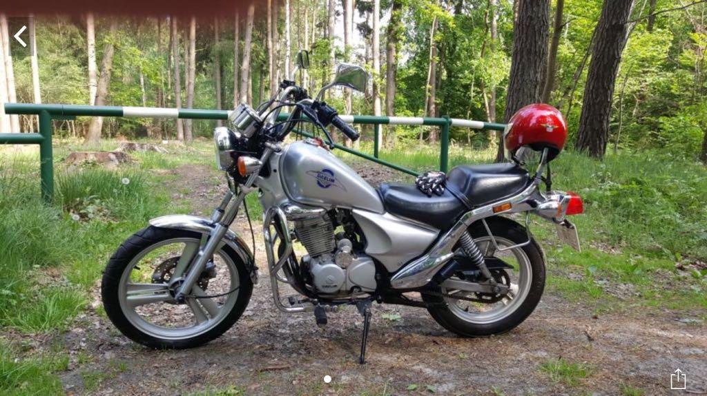 Motocykl Daelim VS 125ccm 4T Na Kat B Chopper