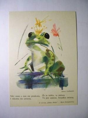 Z Wiersza żabka Helusi Maria Konopnicka