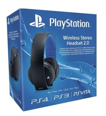WIRELESS STEREO HEADSET 2.0 SONY PS4 PS3 OKAZJA!