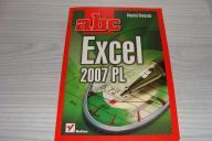 Excel 2007 PL abc, Maciej Groszek