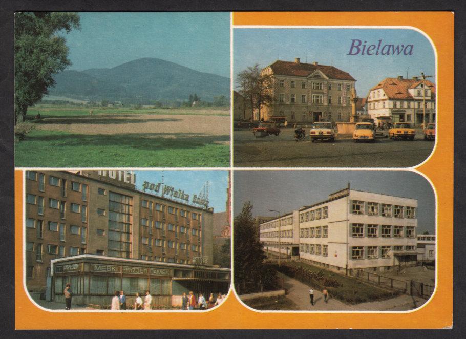 03 Bielawa Plac Wolności Szkoła Hotel 7030358269