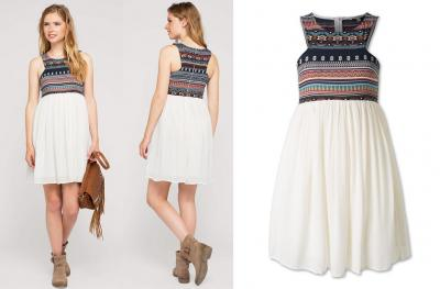 Cudna sukienka BOHO C&A  r.40 NOWA % promocja