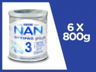 Nestle NAN OPTIPRO PLUS 2 Mleko nast. od 6m 6x800g