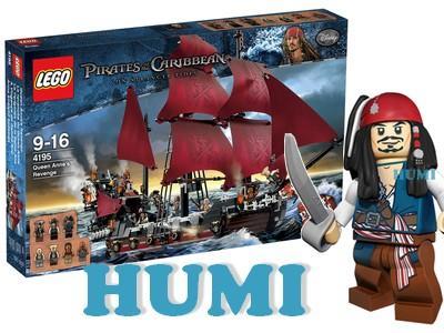 Lego Piraci Z Karaibów 4195 Mega Statek Xxl Ups 4276313130