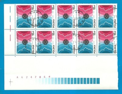 10x2739 - RoK Telekomunikacji - 1983r - Kasowane
