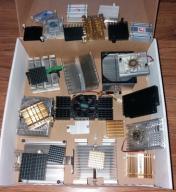 Radiatory aluminiowe różne 27sztuk BCM