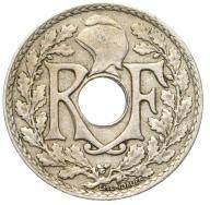 Francja - moneta - 25 Centymów 1927 - 2