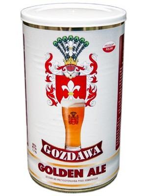 GOZDAWA PIWO 23L GOLDEN ALE +drożdże słód BREWKIT