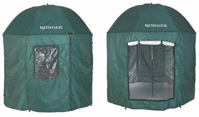 Konger Parasol Namiot Wędkarski z Moskitierą 250cm