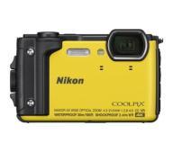 ŻÓŁTY Aparat cyfrowy Nikon Coolpix W300 4K 16Mpx