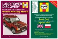 LAND ROVER Discovery 2 TD5 98-04 instrukcja Haynes