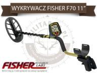 Wykrywacz metali detektor metalu FISHER F70 11 DD