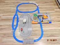 Zestaw torów kolejowych Tomica nr1 Tomek