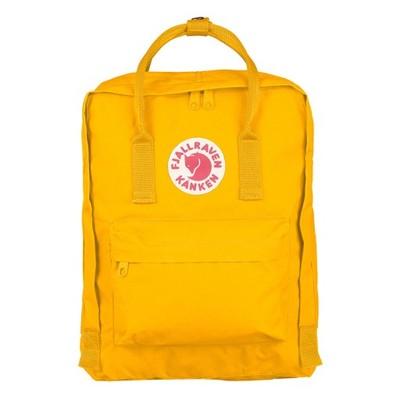 nowy styl życia najwyższa jakość dla całej rodziny FJALLRAVEN Kanken yellow plecak 16L