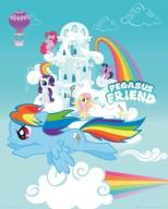 My Little Pony - Pegasus Friend - plakat 40x50 cm