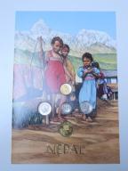 Zestaw monet - NEPAL - Y002