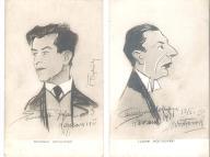 Karykatura, humor, śmieszne, II RP aktor
