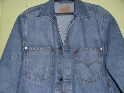levi's LEVIS świetna kurtka jeans L-XL jedyna taka