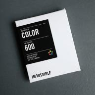 Impossible 600 Color Film White Frames Polaroid