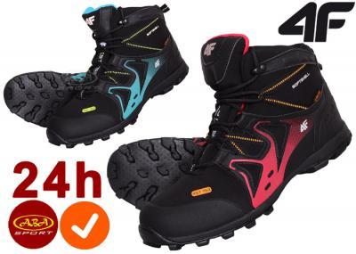 Buty damskie zimowe wysokie 4f trekkingowe 36 41   Buty