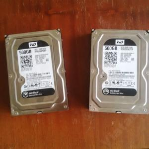 Dysk WD BLACK 500GB WD500AZEX 64MB 3lata GW