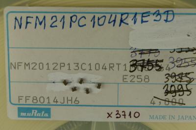 40szt NFM21PC104R1E3 przepust ceram. 100nf MURATA