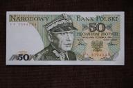 Polska 50 złotych 1986 rok ser. FF UNC- RZADKI !!
