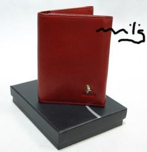 19903d6348733 Etui dokumenty PUCCINI czerwone skórzane P-1595 3 - 4077522940 ...