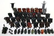 Warhammer Chaos Warriors mega zestaw 33 figurek