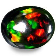 5.11 Opal czarny AAA+ 8,14ct VIDEO na pierścionek