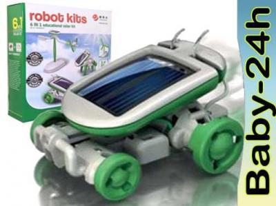 6w1 ROBOT SOLARNY NA BATERIE SLONECZNE ! PREZENT