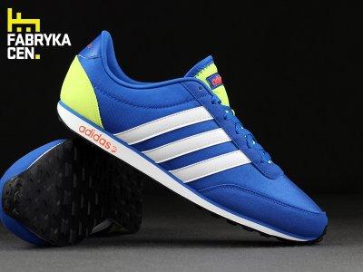 Adidas Neo buty sportowe męskie racer niebieskie w Domodi