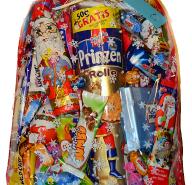 PACZKA SŁODYCZY słodycze MIKOŁAJ 1,9kg z Niemiec