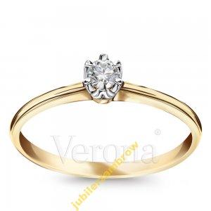 Pierścionek Diament Julietta 012ct 1321 Verona 6472761332