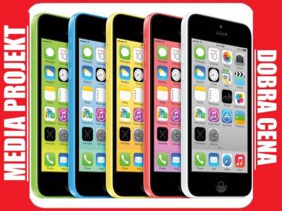 iPHONE 5C 16GB GWARAN. 5 KOLORÓW FAKTURA  FIRMA PL