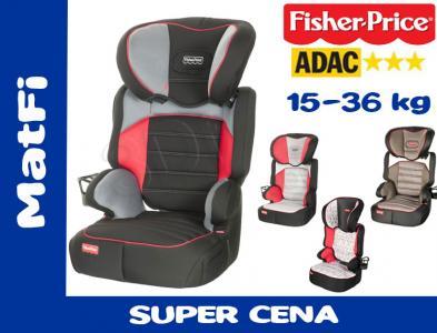 FOTELIK samochodowy FISHER PRICE BEFIX 15-36 ADAC