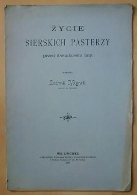 WIELICZKA - Młynek ŻYCIE SIERSKICH PASTERZY - 1898
