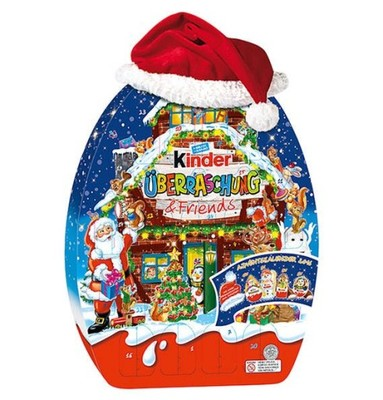 Kalendarz Adwentowy Kinder Jajka Niespodzianka Dom 6641328217 Oficjalne Archiwum Allegro