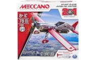 MECCANO SKRĘCANY MODEL 2W1 SAMOLOT 78 EL. 91784