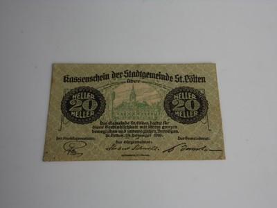 20 heller 1919 notgeld